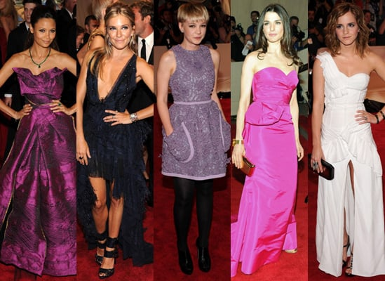 Stylish Brits at the 2010 MET Costume Institute Gala in New York