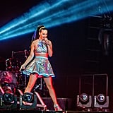 Katy Perry wowed on stage at her concert in Amsterdam on Monday.