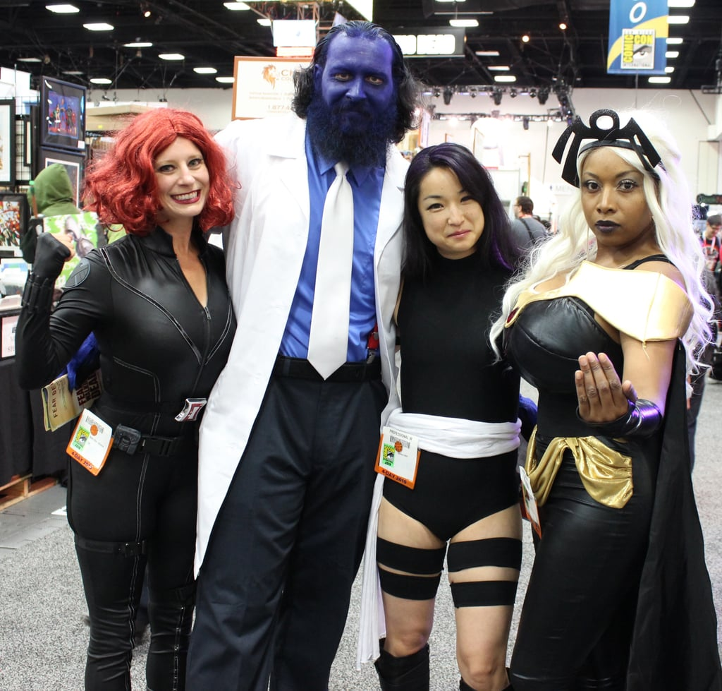 Black Widow and X-Men