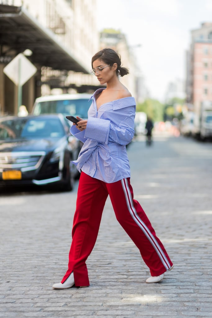Street Style New York Fashion Week 2017 Popsugar Fashion Australia