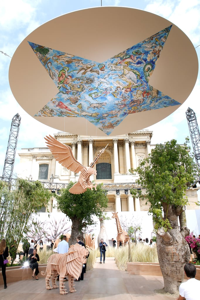 The Theme For Dior's Fall 2017 Haute Couture Show Was Around the World