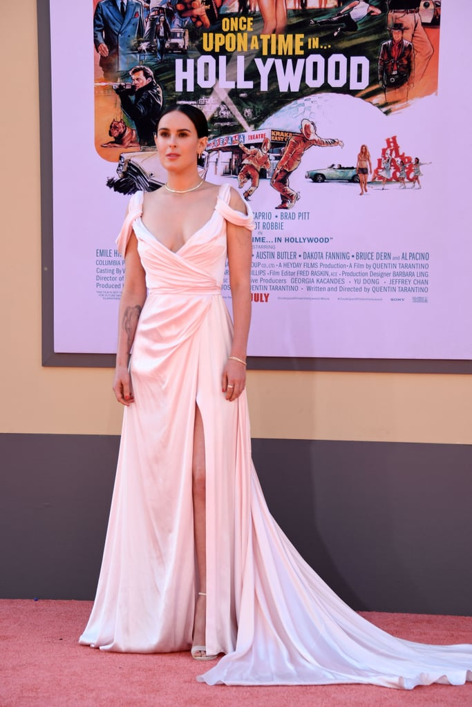 Rumer Willis at the Once Upon a Time in Hollywood LA premiere.