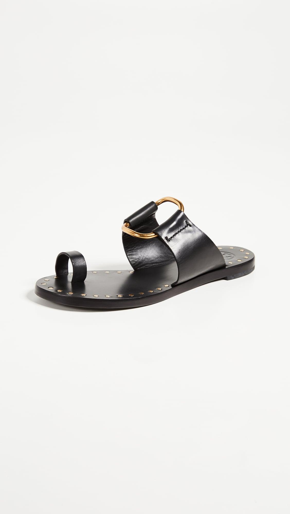 Tory Burch Brannan Toe Ring Sandals