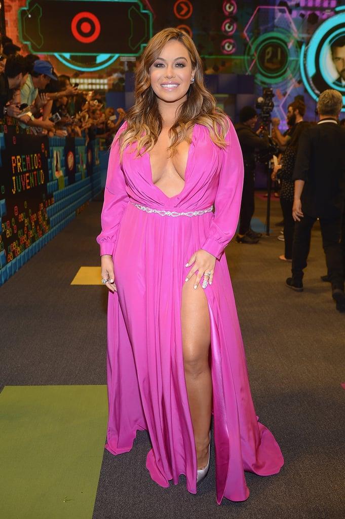 Chiquis in a Dress