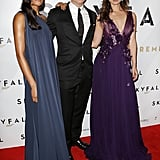 Daniel Craig, Naomie Harris, and Bérénice Marlohe posed together in Australia.