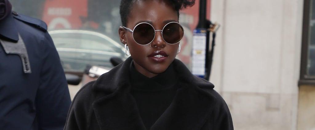 Lupita Nyong'o's Yellow Contact Lenses