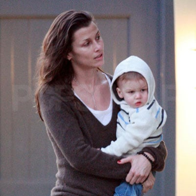 Bridget Moynahan and Her Son John Out in LA