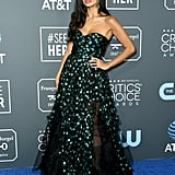 Jameela Jamil at the 2019 Critics' Choice Awards