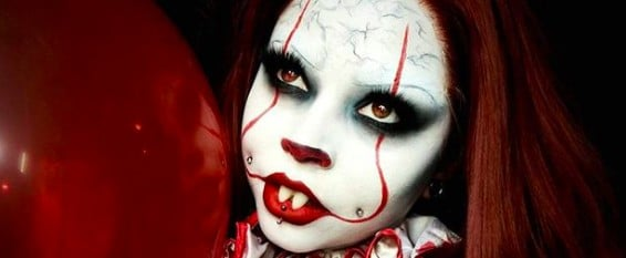 'It'-Inspired Clown Makeup Is Taking Over Instagram and Now We Can't Sleep
