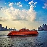 Take a ferry ride.
