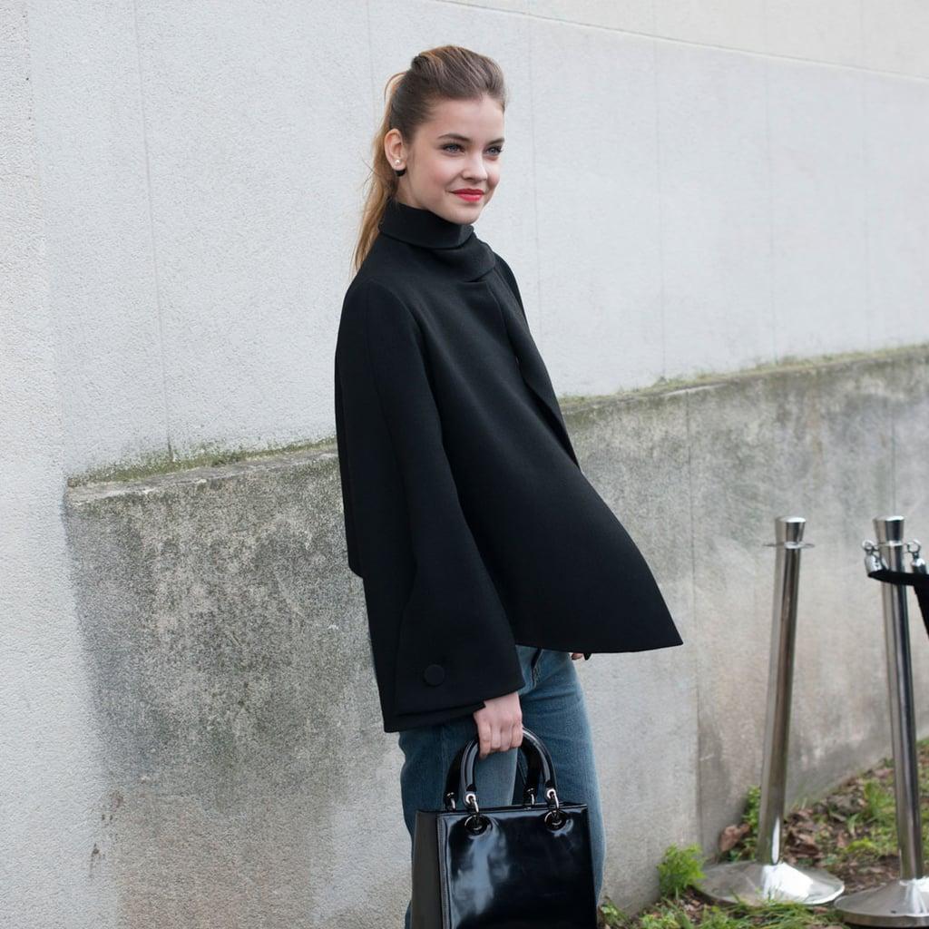 Women's Street Style at Men's Fashion Week