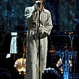 Harry Styles's Performance at the 2020 BRIT Awards   Video