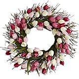 Spring Tulip Wreath ($40)
