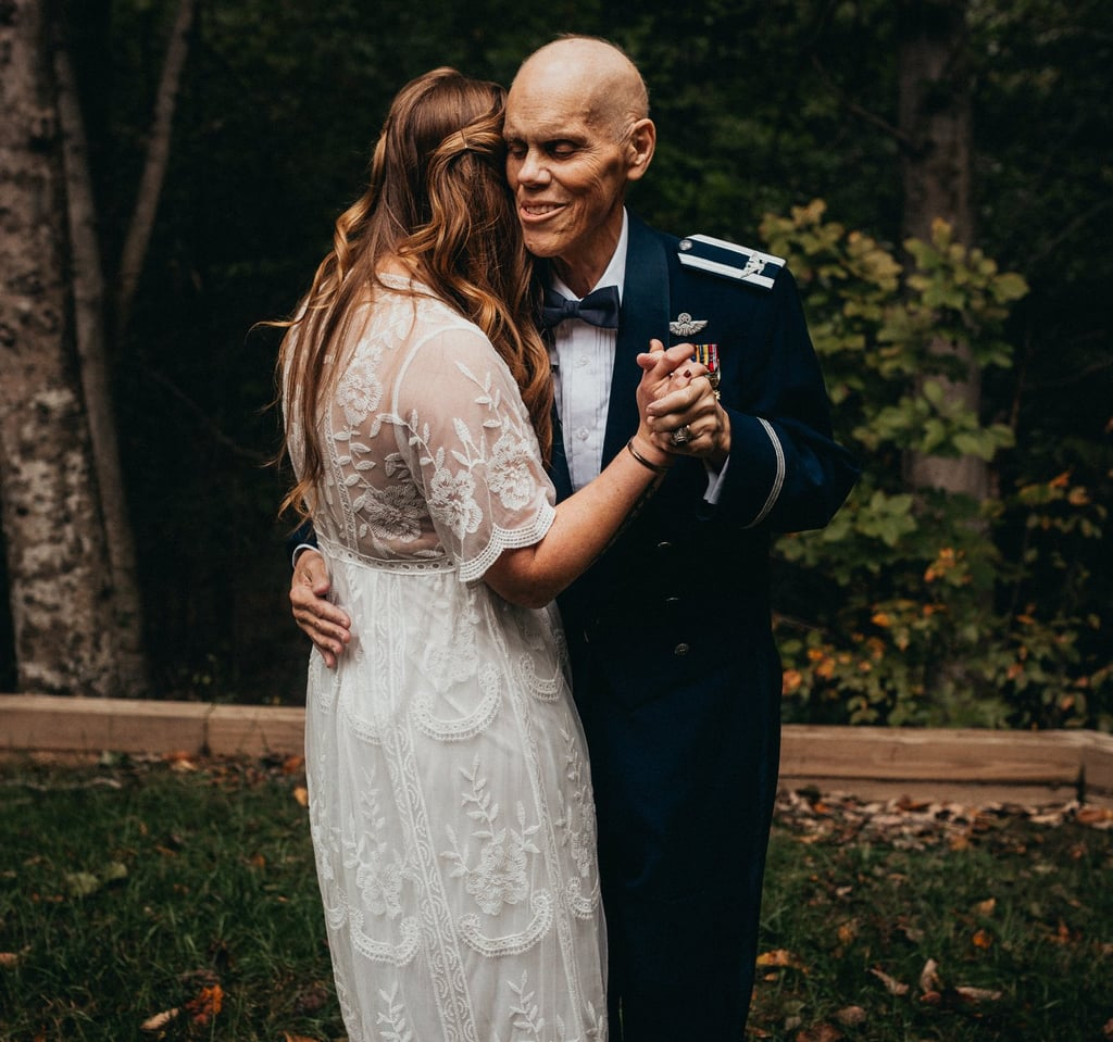 8c1e6b12fca Bride Swaps Engagement Shoot For Final Father-Daughter Dance. This Bride  Swapped Her ...
