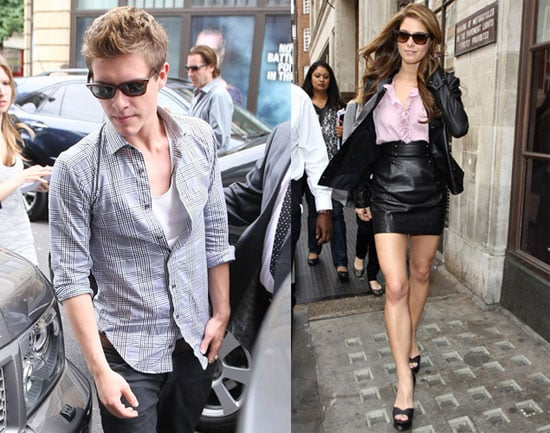 Pictures of Xavier Samuel, Ashley Greene, and Nikki Reed Promoting Eclipse in London