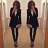 This Snap Inspired Us to Show Up to Work a Total #BossLady in a Blazer