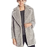 Kensie Women's Notch-Collar Faux-Fur Coat ($198)