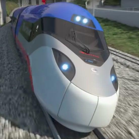 High-Speed Amtrak Trains