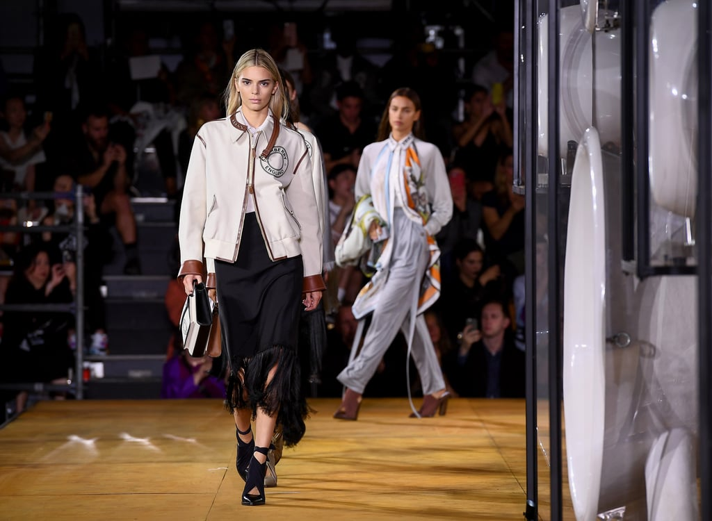 Kendall Jenner Debuted Blond Hair at London Fashion Week