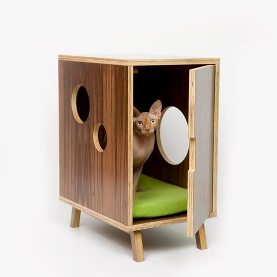 Modernist Cat Midcentury Litter Box Cover ($479)