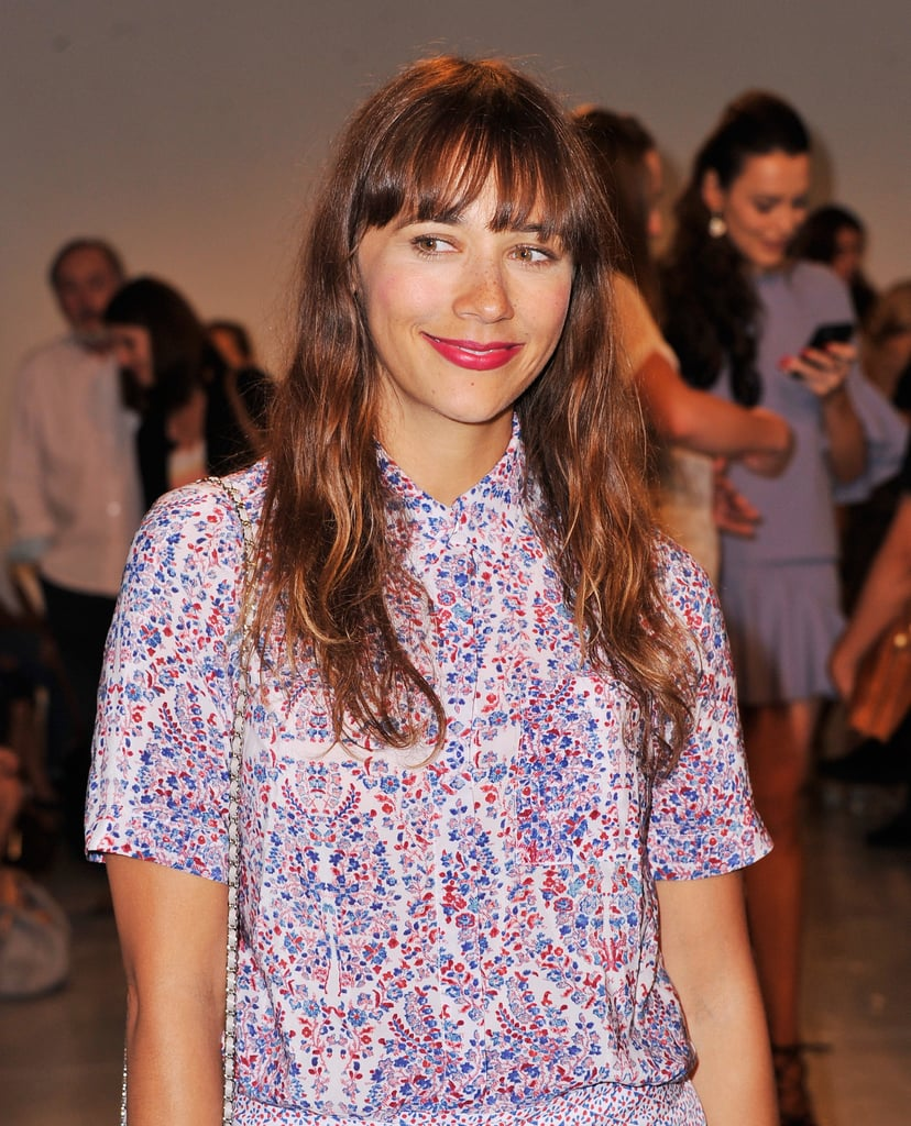 Rashida Jones at Rebecca Taylor | Celebrity Hair and ...