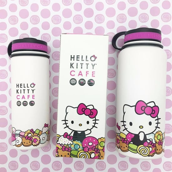 Hello Kitty Cafe Stainless Thermos Bottle