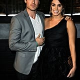 Before they were dating, Ian and Nikki posed for a photo at a 2010 event.
