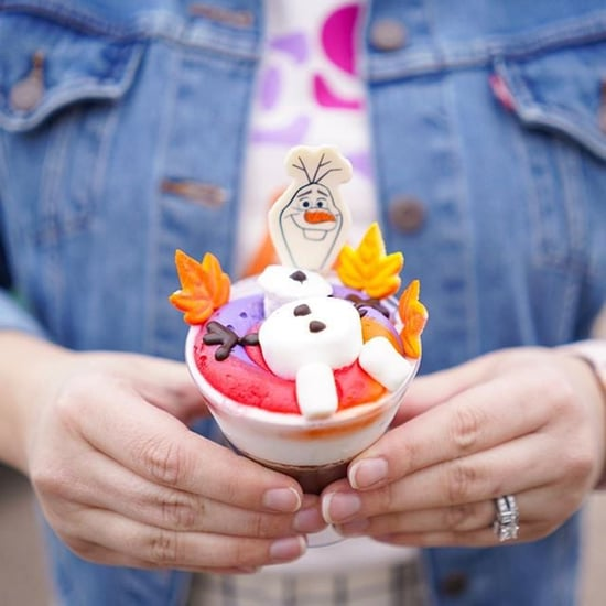 Disney World Has Frozen-Themed Olaf Hot Chocolate Cake