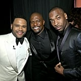 Pictured: Anthony Anderson, Terry Crews, and Jay Pharoah