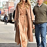 Her Wardrobe of Neutrals and Oversize Coats Speaks to the Signature Olsen Aesthetic