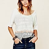 Was there ever a music festival that wasn't worthy of denim cutoffs? Didn't think so. This darker-wash pair has a much more end-of-season feel than say, an acid-washed ombré iteration. Free People Denim Cut Off Shorts ($68)