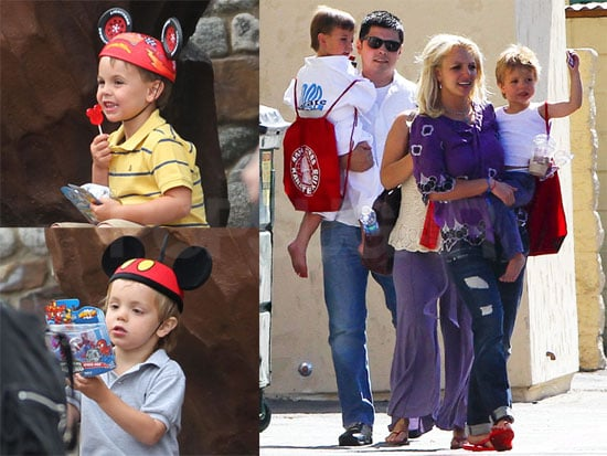 Photos of Brit and Boys