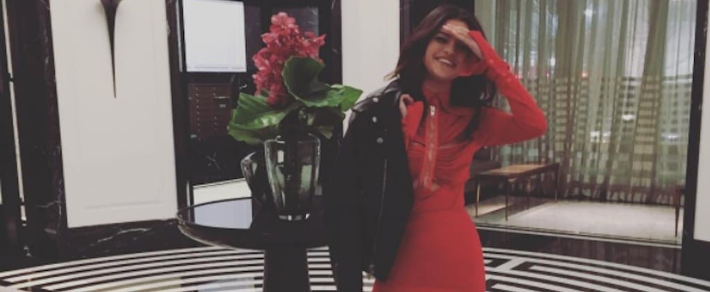 Selena Gomez Just Won Valentine's Day in This Sexy, Sophisticated Dress