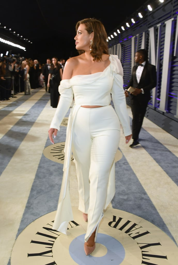 Ashley Graham Vanity Fair Oscar Party Outfit 2019 Popsugar Fashion