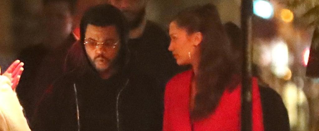 Bella Hadid and The Weeknd in Paris June 2018