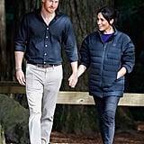 Meghan Markle's Puffer Jacket October 2018