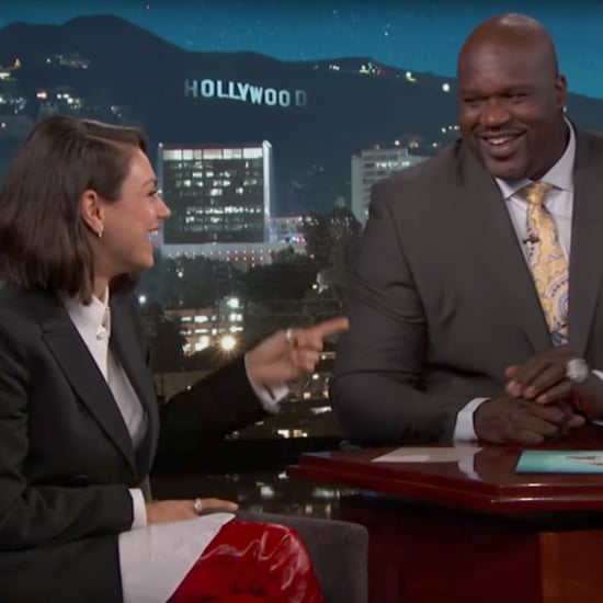 Mila Kunis and Shaq Jimmy Kimmel Interview October 2017
