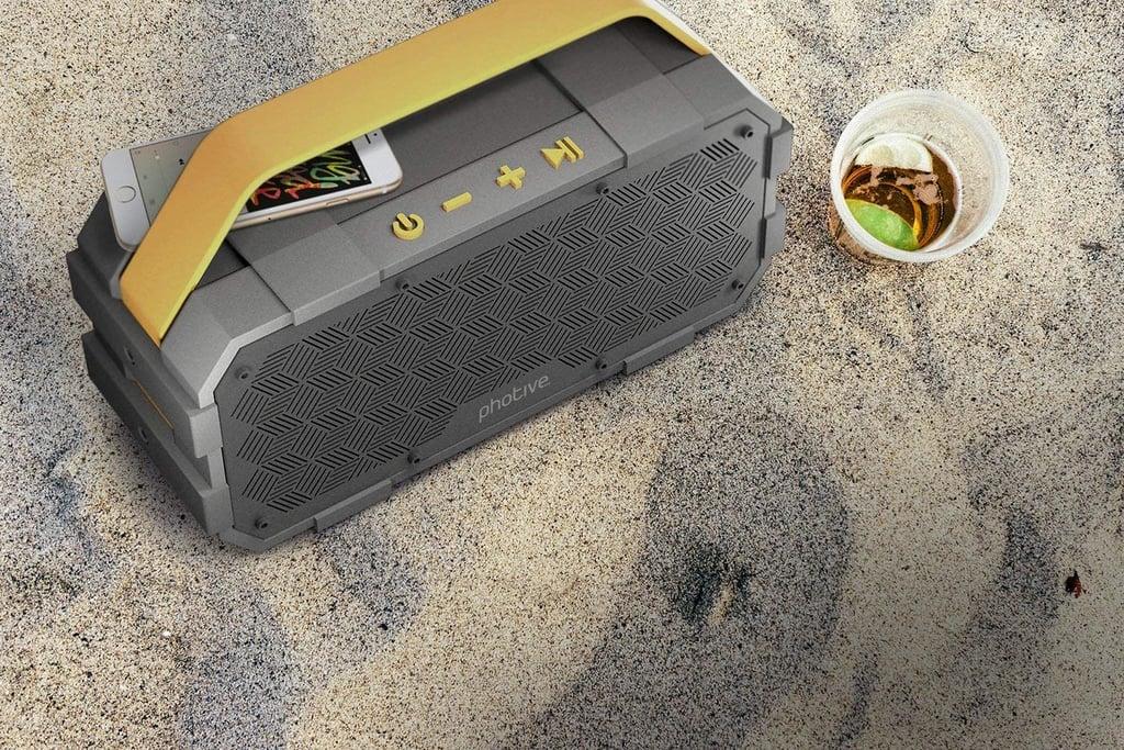 Photive Portable Waterproof Bluetooth Speaker