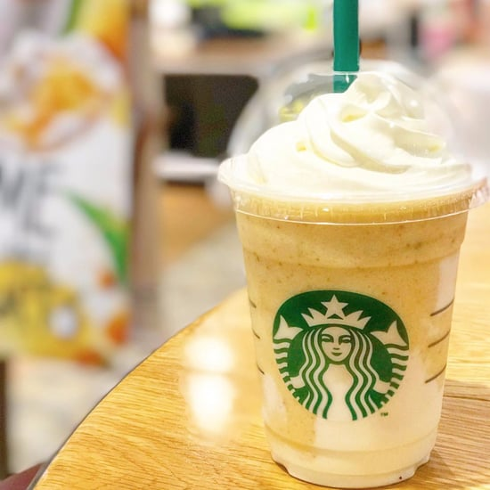 Starbucks Japan Key Lime Cream and Yogurt Frappuccino