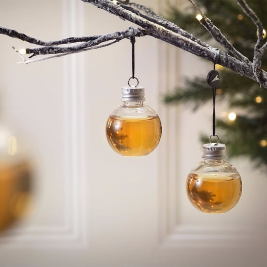 Alcohol-Filled Christmas Ornaments
