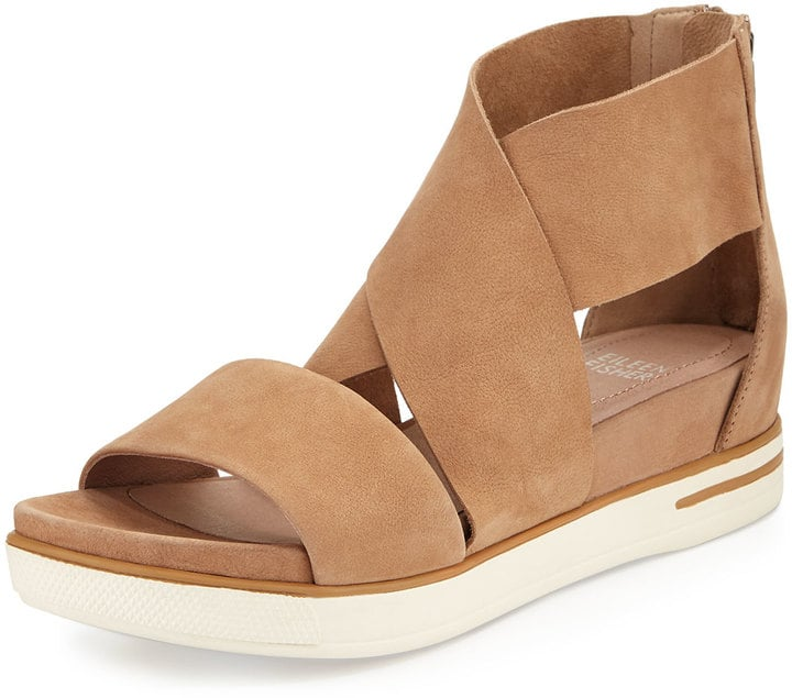 81545a4d41f Eileen Fisher Sport Wide-Strap Leather Sandal ( 195)