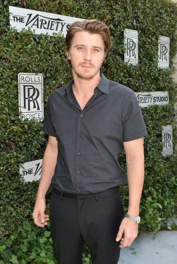 Garrett Hedlund was out at the Variety Studio in LA.