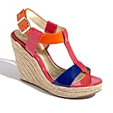 Colour block with the best of them in this pair.  Isola 'Olencia' Wedge Sandal (£100.01)