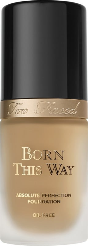 Too Faced Born This Way Absolute Perfection Foundation ($39) comes in 18 shades.