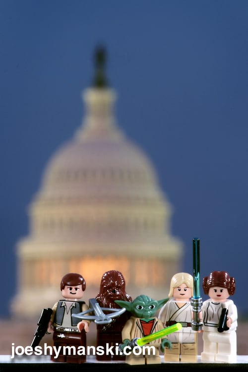 Don't worry, the Rebels are here to save the capitol.