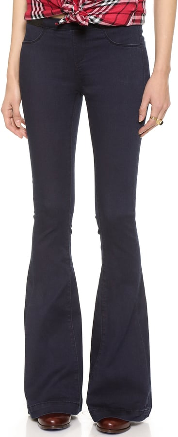 Blank Pull On Flare Jeans ($88)