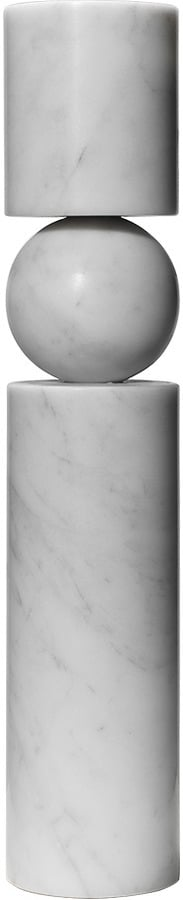 Lee Broom Fulcrum Candlestick Large Marble