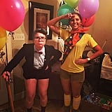 Carl and Russell From Up