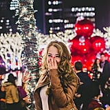 Christmas Engagement Photos in New York