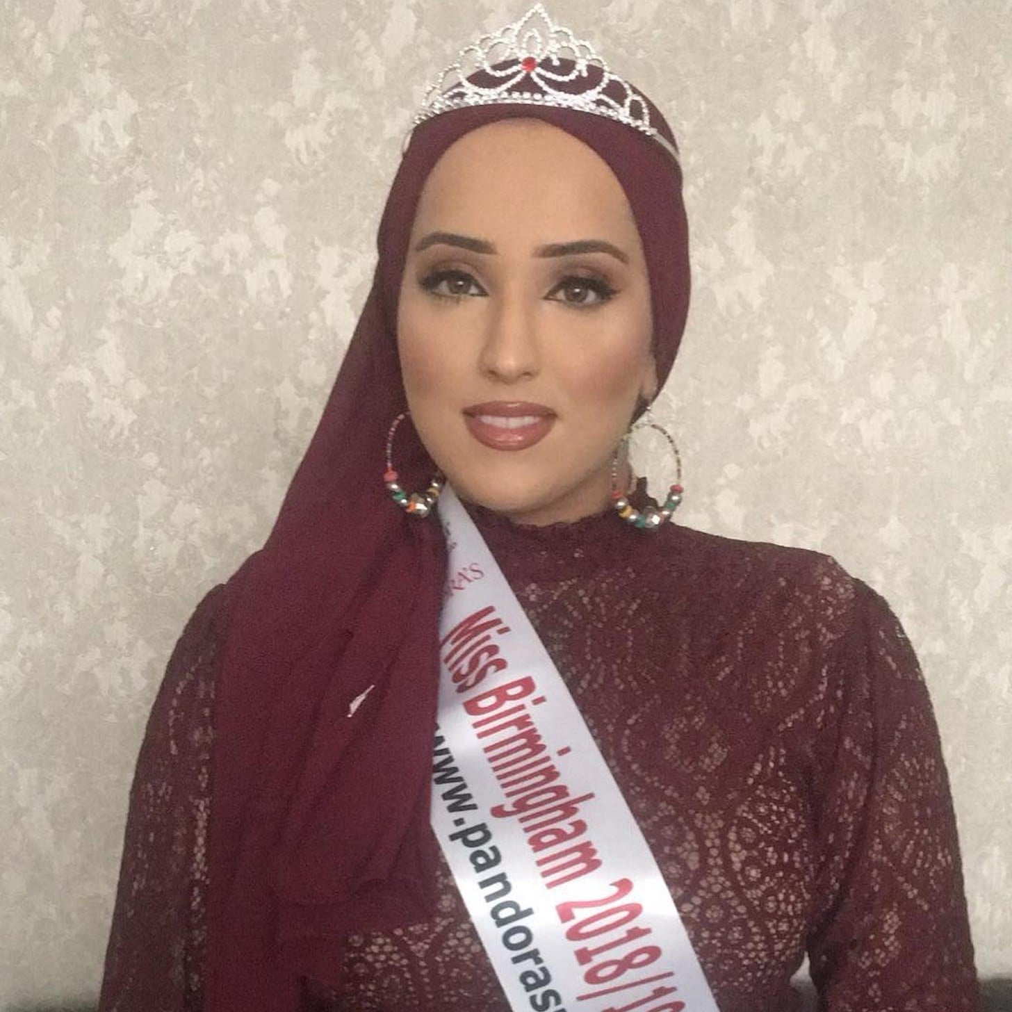 Maria Mahmood Could Be First Miss England To Wear A Hijab Popsugar Headpiece Middle East Love